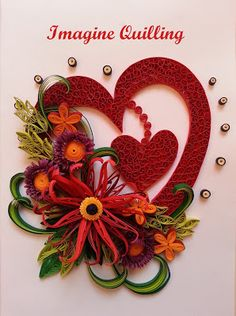 190 Best Quilling Valentine S Day Images Quilling Hearts Cards