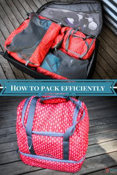 How to pack a suitcase efficiently with packing cells