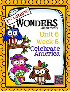 If you are already using or you are new to the Wonders Reading Program, this 82 page packet is for you.  This packet will help you teach the skills in Unit 6 Week 5 of 6.  You'll have  help with weekly lesson planning, printables for centers or word work activities, anchor charts, essential question posters, vocabulary and spelling practice, and much, much more.If you have any questions or requests, please send them to iheartbeingfirst@gmail.com.