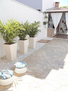 Área externa decorada - projetos 10, 11, 12 e 13 #euquefiz