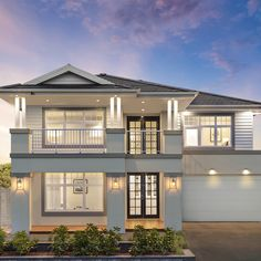 Take a virtual tour of this stunning five bedroom, two storey home and imagine how you and your family will bring it to life. Hamptons House, The Hamptons, Mcdonald Jones Homes, Hampton Style, 3d Home, Storey Homes, Front Entrances, Timber Flooring, New House Plans