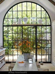 casement window & door  my fave