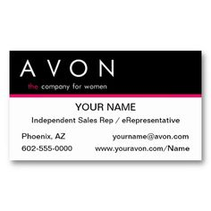 17 Best Avon Business Cards Templates Images Business