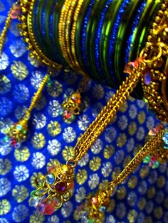 Bangles or churi ~  traditional ornaments