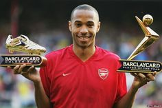 With Thierry Henry on the brink of a return to Arsenal, BBC Sport looks at his career French Football Players, World Football, Soccer Players, Football Soccer, Football Moms, Football Photos, Arsenal Fc, Arsenal Players, Arsenal Football
