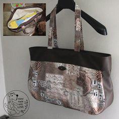Véliká nákupní taška :o) Reusable Tote Bags, Handmade, Hand Made, Handarbeit