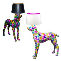 POPZIE-Magestic Mannequins- Pop Art Hand Painted Dog Mannequin Floor Lamp. #dog #dogs #dogmannequin #popartdog #doglamp #doglampshade #mannequins #popart #popartmannequin #popartfloorlamp #popartlamp #handpainted #artlamp #interiorlighting #floorlamp #mannequinfloorlamp #artfloorlamp #mannequinsinart #lifesizemannequin #lampshade #luxurystyle #luxurylife #luxurylifestyle