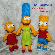Crochet Patterns. The Simpsons