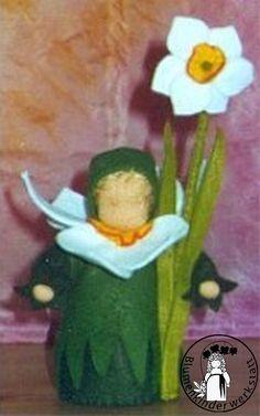Blumenkinderwerkstatt - Blumenkinder für den Jahreszeitentisch