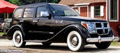 '37 Packard Sedan + '07 Dodge Nitro