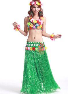 Hawaiian hula Dance Costume