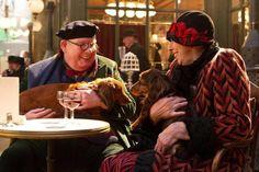 Richard Griffiths and Frances de la Tour in Hugo, 2011; directed by Martin Scorcese