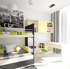 Colorful Bedroom Interior Design Ideas