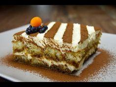 Tiramisu is one of the most popular Italian Desserts.Each bite of Tiramisu will have rich , . Quark Recipes, Gourmet Recipes, Dessert Recipes, Dinner Recipes, Banana Foster, Tiramisu Dessert, Tiramisu Recipe, Bolo Ferrero Rocher, Best Cake Flavours
