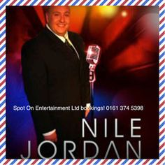 Nile Jordan started in music industry at age 13 playing guitar in Sefton Youth Jazz Orchestra, noticed by famous trumpeter Digby Fairweather. Book now. Music Industry, Playing Guitar, Orchestra, Jazz, Jordans, Singer, Entertaining, Books, Youth