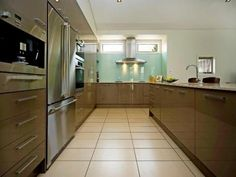 entirely finished with stainless steel Miele kitchen appliances Miele Kitchen, Kitchen Cabinets, Kitchen Appliances, Real Estate, Stainless Steel, Interior Design, House Styles, Home Decor, Diy Kitchen Appliances