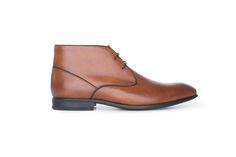 Neformální polobotky střihu chelsea boots z hovězinové usně koňakové barvy. Chelsea, Ankle, Boots, Fashion, Crotch Boots, Moda, Wall Plug, Fashion Styles, Shoe Boot