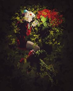 Happy Earth Day by samanthadoodles on DeviantArt Harley Quinn Drawing, Joker And Harley Quinn, Arlequina Margot Robbie, Gotham Girls, Gotham Batman, Batman Art, Batman Robin, Poison Ivy Batman, Arte Dc Comics