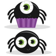 Spider Set http://www.misskatecuttables.com/products/halloween/freebie-of-the-day-spider-set.php