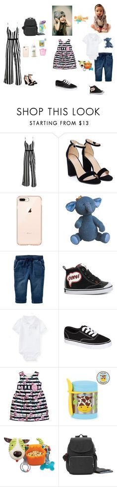 """Sem título #2428"" by leonnorgonzalez ❤ liked on Polyvore featuring Nasty Gal, Geox, Ralph Lauren, Pippa, Skip Hop, Kipling and WubbaNub"