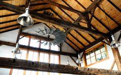 Windmill ceiling fan How COOL! Hops Barn| Heritage Restorations