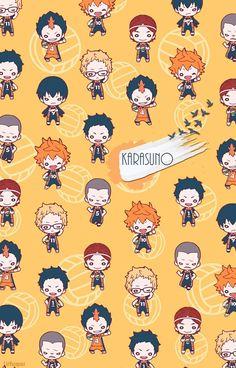 ideas wallpaper anime haikyuu wallpapers for 2019 Chibi Wallpaper, Haikyuu Wallpaper, Cute Anime Wallpaper, Haikyuu Karasuno, Haikyuu Funny, Haikyuu Fanart, Nishinoya, Kenma, Anime Chibi