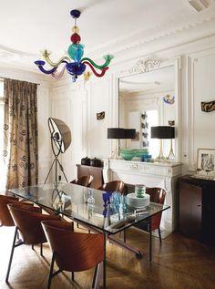 decordemon: Muriel Réus's eclectic apartment in Paris