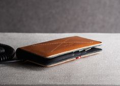 Apart from the iPhone 5 and 5S models, the wallet can also be customized to fit your brand new iPhone 6 too.