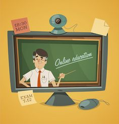 Can online learning ever beat the real thing? -- Big Think Oakland University, Higher Learning, Instructional Design, A Classroom, Online Courses, Beats, Insight, Teaching, Maryland