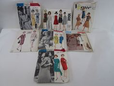 7 Vogue Paris Originals- Couturier & Basic all have directions but not sure if complete sld 98.55+fr 4bds 10/6/15