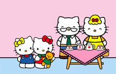 All About Hello Kitty: The Story Of Her Life, Family, Friends, And Pets
