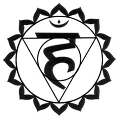 5th Chakra. Names: Throat Chakra / Vishuddha | Form: 16-leaf-lotus