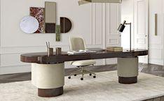 Oxford - Capital Collection Contemporary Desk, Modern Desk, Modern Living, Office Table, Home Office Decor, Home Decor, Best Interior, Interior Design, Secret Rooms