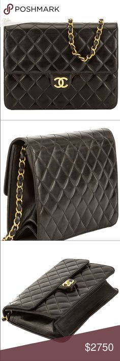 a1c6465fc1d3 Vintage WGACA Ex-Chanel Quilted Flap Bag WGACA features this bag because  it's the best