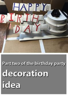 Part two of the birthday party decoration idea - Querianson Birthday Favors, Birthday Party Decorations, Party Themes, Birthday Parties, Party Ideas, Parenting Humor, Parenting Advice, Guilt Quotes, Best Blogs
