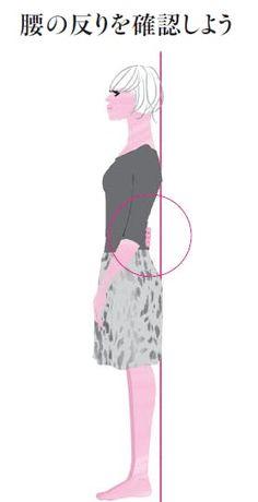 ぽっこり腹や腰痛の原因にも 「反り腰」を改善: 日本経済新聞