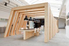 OFFICE. Les bureaux du studio Onesize à Amsterdam