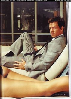 Mark Wahlberg #suit