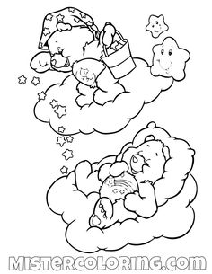 29 best care bear coloring pages for