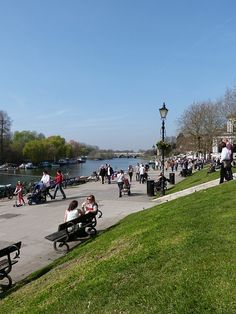 Richmond riverside in Greater London