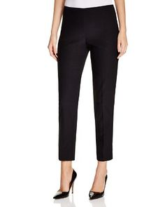 T Tahari Dayna Cropped Straight Leg Pants | Bloomingdale's