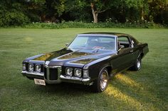 1969 Pontiac Grand Prix SJ by carphoto, via Flickr Pontiac Bonneville, Pontiac Grand Prix, Firebird, Sexy Cars, Gto, Back In The Day, Diecast, Detroit, Classic Cars