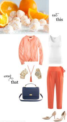 Eat This, Wear That: Creamsicle Orange