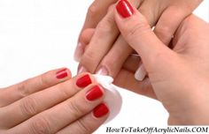 http://howtotakeoffacrylicnails.com/how-to-take-off-acrylic-nails-with-dental-floss-at-home/ Dental Floss is available at almost all of the homes. Mostly, you can get it from the dining table. It is widely used by the housemates to get rid of the food particles entangled within your teeth.