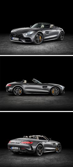 A highly dynamic driving experience in a very exclusive ambience, coupled with that pure roadster feeling: The new Mercedes-AMG GT C Roadster. [Combined fuel consumption 11.4 l/100km   combined CO2 emission 259 g/km   http://mb4.me/efficiency_statement]