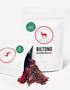 Grass Fed Biltong because guys like food and are a little harder to shop for.