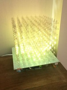 Picture of It's Complete Led Cube Arduino, Arduino Mega, Simple Arduino Projects, Picture Table, Table Lamp, Display, Diy, Wall Pictures, Raspberries