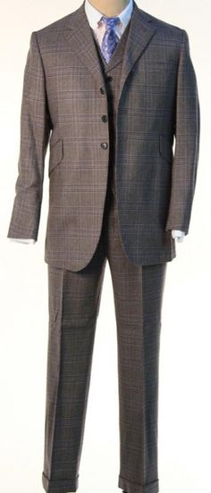 Nucky Thompson's Plaid Easter Suit