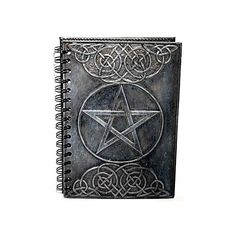 Black Pentagram Blank Book of Shadows ($22) ❤ liked on Polyvore