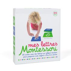 Mes lettres Montessori - Des lettres en relief à toucher pour préparer son enfant à lire et à écrire - 22,90 €